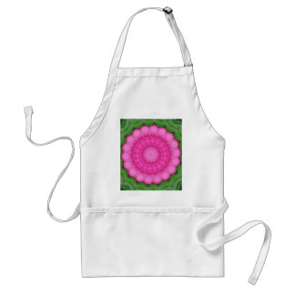 Wild pink rose of india adult apron
