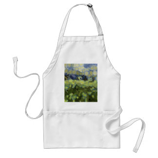 Wild plant growth under the sky adult apron