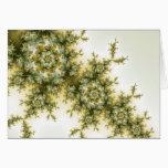 Wild Plant - Mandelbrot Fractal Art Card