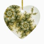 Wild Plant - Mandelbrot Fractal Art Ceramic Ornament