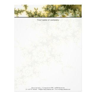 Wild Plant - Mandelbrot Fractal Art Letterhead