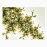 Wild Plant - Mandelbrot Fractal Art Postcard