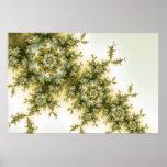 Wild Plant - Mandelbrot Fractal Art Poster