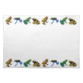 Wild Poison Frogs Placemat