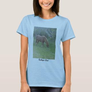 Wild Pony of Assateague Island T-Shirt - Ladies