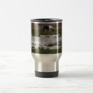 Wild Pony of Assateague Island, VA Travel Mug