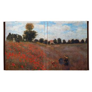 Wild Poppies by Monet iPad Cases