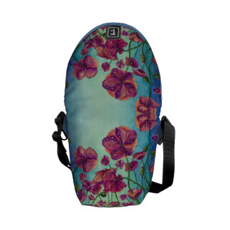 Wild Poppies - Mini Messenger Bag