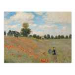 Wild Poppies, near Argenteuil Post Card