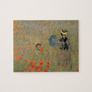 Wild Poppies, near Argenteuil Jigsaw Puzzles