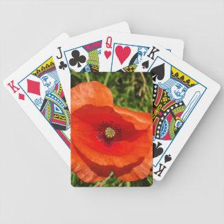 Wild poppy poker cards
