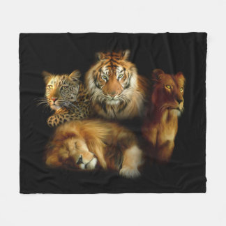 Wild Predators Fleece Blanket