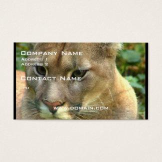 Wild Puma Business Card
