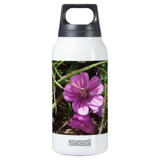 Wild Purple Cranesbill Insulated Water Bottle