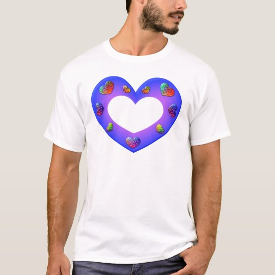 Wild Purple Heart T-Shirt
