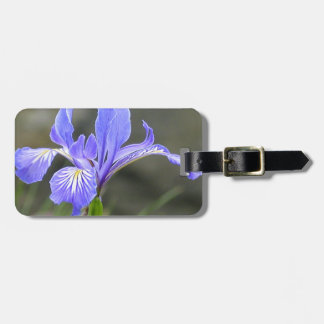 Wild Purple Iris Tags For Luggage