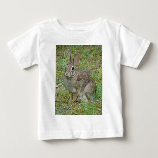 Wild Rabbit Eastern Cottontail Apparel and Gifts Baby T-Shirt