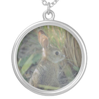 Wild Rabbit Silver Plated Necklace