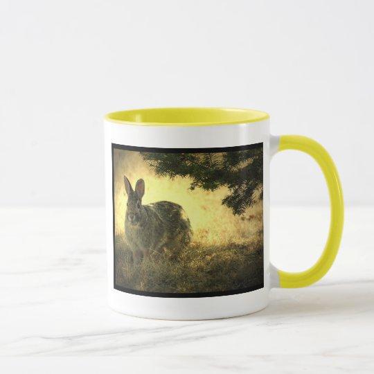 Wild Rabbits Ceramic Coffee Mug