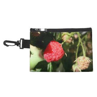 Wild Raspberries Clip On Accessory Bag