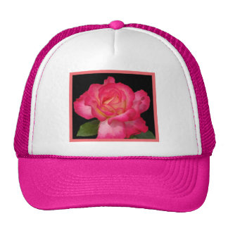 Wild Raspberry Rose II Trucker Hat