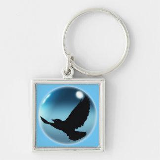 Wild Raven Wildlife Photo Gift Keychain