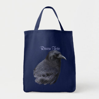 Wild Raven Wildlife Photo Gift Tote Bag