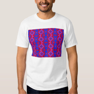 wild red blue T-Shirt