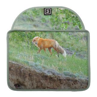 Wild Red Fox II Animal Wildlife MacBook Sleeves Sleeve For MacBooks
