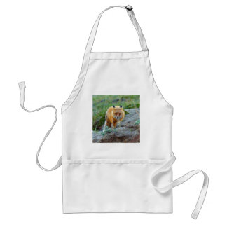 Wild Red Fox Vixen Wildlife Photo Art Adult Apron
