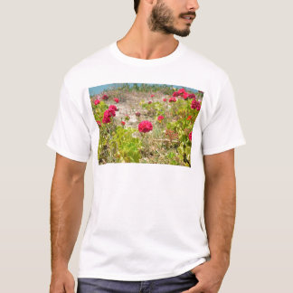 Wild Red Geraniums T-Shirt