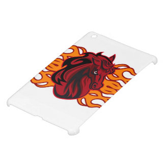 Wild red mustang horse iPad mini cases