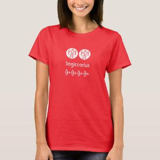 Wild Red : Zodiac Sagittarius Symbol T-Shirt