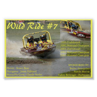 Wild Ride #7 - Four Time National Champion! Poster
