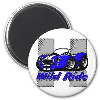 Wild Ride Car Magnet