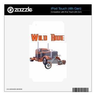 Wild Ride iPod Touch 4G Skins