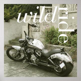 Wild Ride Print Poster