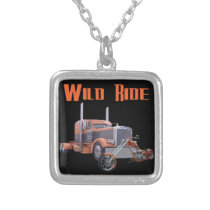Wild Ride Silver Plated Necklace