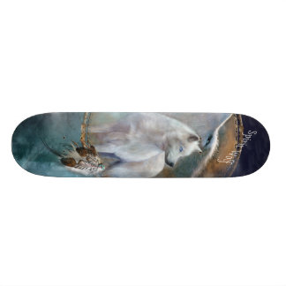 Wild Ride -Spirit Wolf Skateboard