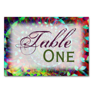 Wild Ride Table Card