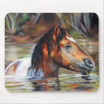 Wild River Horse Mouse Pad