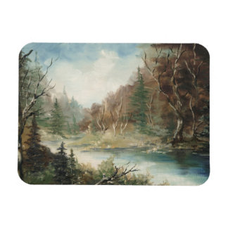 Wild River Landscape Magnet
