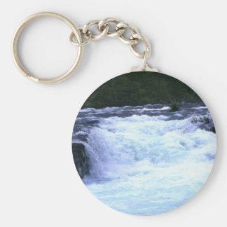 WILD RIVER RAPIDS Gift Key-Chain Basic Round Button Keychain