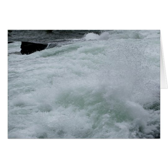 WILD RIVER RAPIDS Greeting Card