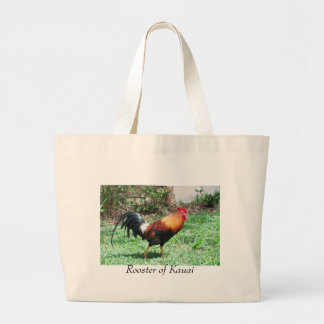 Wild Rooster Large Tote Bag
