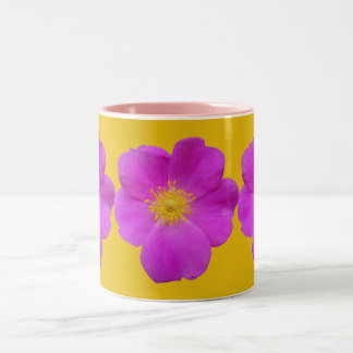 Wild Rose 2 Two-Tone Coffee Mug
