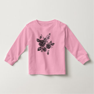Wild Rose and Butterfly Shirts