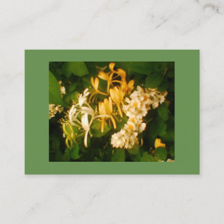 Wild Rose and Honeysuckle Business Card