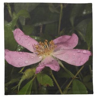 Wild Rose Cloth Napkin