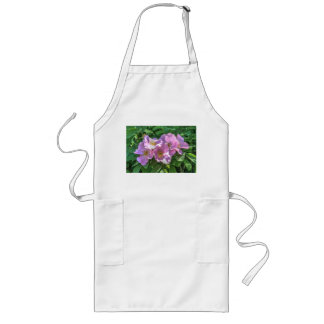 Wild Rose Cluster Long Apron